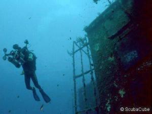 Κατάδυση στο ναυάγιο Ζηνοβία Πηγή: Kυπριακός Οργανισμός Τουρισμού