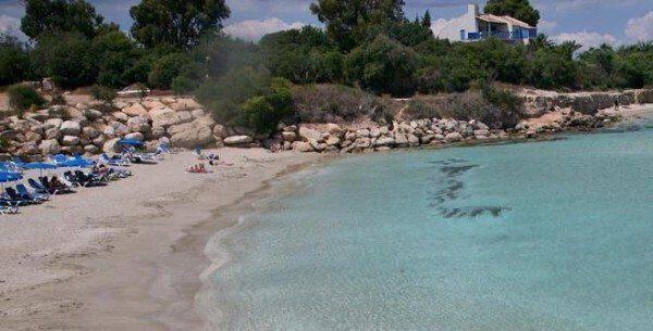Ελεύθερη επαρχία Αμμοχώστου Παραλία Κατσαρκά – Μπλε Σημαία