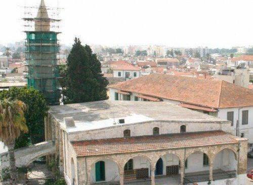 Το Μεγάλο Τζαμί στην πόλη της Λάρνακας