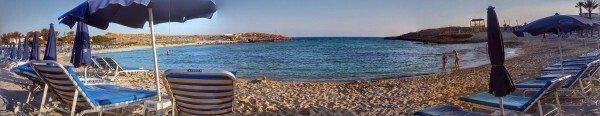 Προσβάσιμη παραλία για ΑΜΕΑ Βαθιά Γωνιά Αγία Νάπα