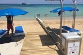 Προσβάσιμη παραλία για ΑΜΕΑ Γιάννα Μαρί Πρωταράς