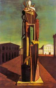 le grand métaphysique, Chirico, 1915