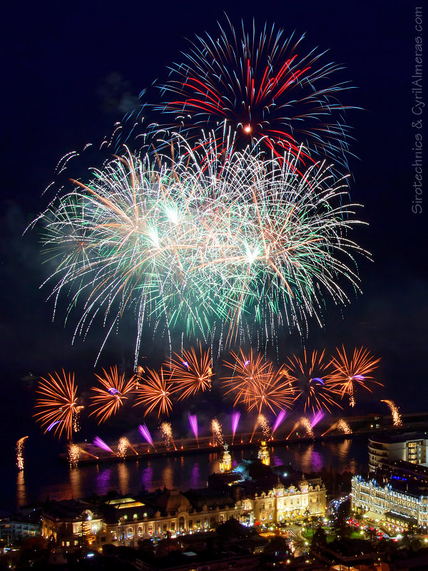 Photos D Un Feu D Artifice Par Sirotechnics Fireworks Ltd