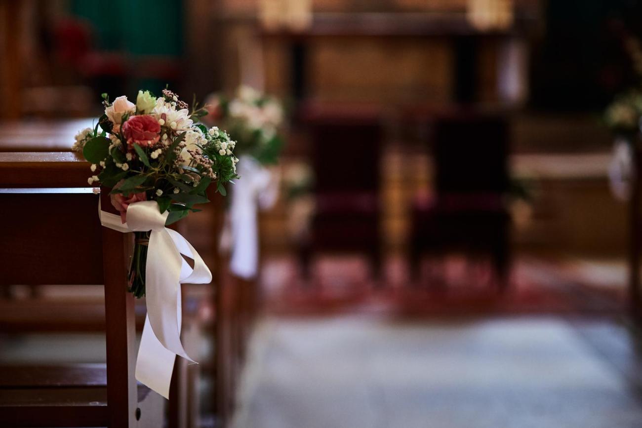 Mariage à l'Église Saint-Martin de Meudon