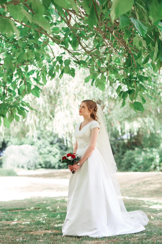 Photographie mariage à la ferme de la Petite Loge à la Haute Maison