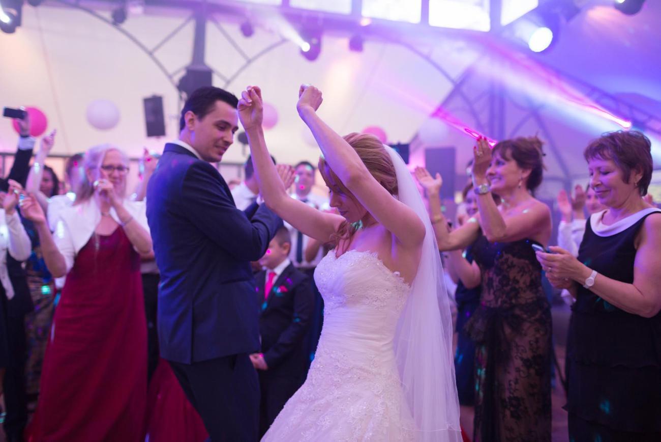 Soirée d'un mariage au Domaine de la Butte Ronde