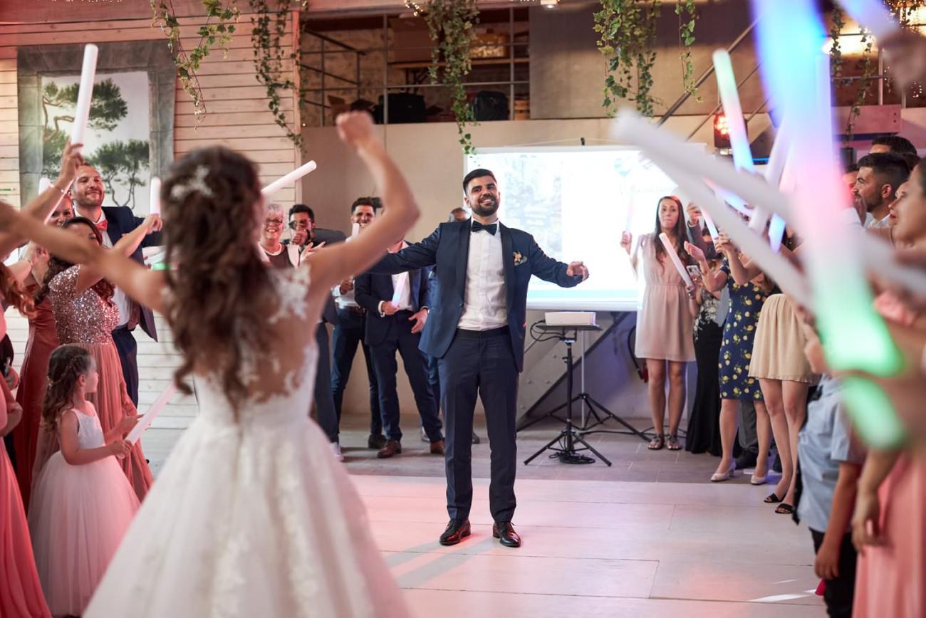 Les Hirondelles Mariage soirée