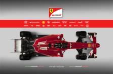 Ferrari SF15-T 2015 góra
