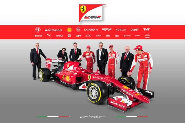 Ferrari SF15-T 2015 zespół