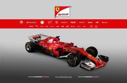 Ferrari SF70H skos prezentacja