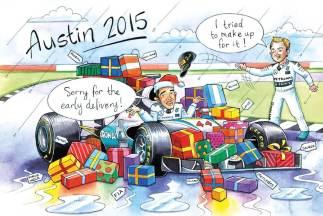 Kartka świąteczna z 2015 roku - szybkie rozstrzygnięcia sezonu