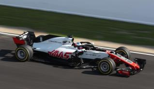 Haas F1 Team VF-18 Grosjean dzień filmowy