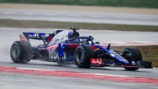 Toro Rosso Honda STR13 skos Misano