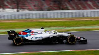 Williams FW41 Sirotkin Testy Barcelona