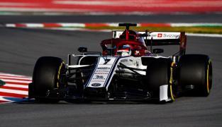 2019 Alfa Romeo Raikkonen Testy Barcelona