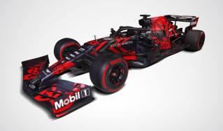 2019 Red Bull RB15 prezentacja grafika skos