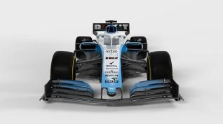 2019 Williams FW42 prezentacja grafika przód