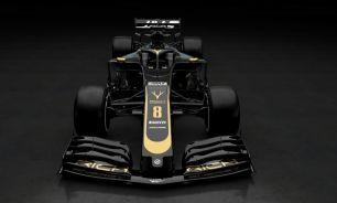 Prezentacja Haas F1 Team VF-19 przód