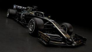 Prezentacja Haas F1 Team VF-19 skos