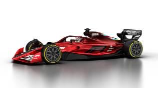 Wizualizacja bolidu F1 na sezon 2021 04