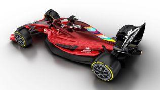 Wizualizacja bolidu F1 na sezon 2021 05