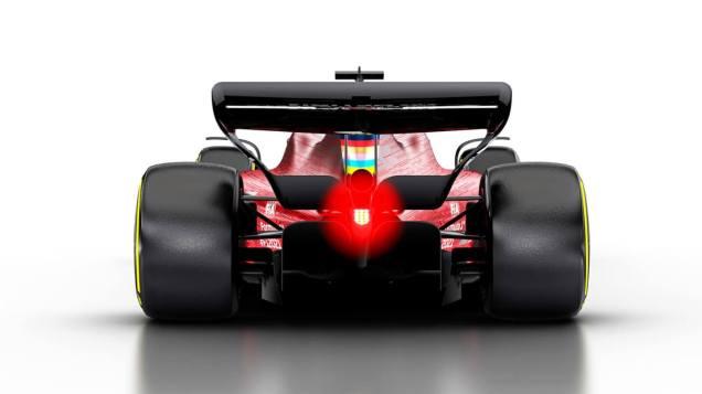 Wizualizacja bolidu F1 na sezon 2021 09