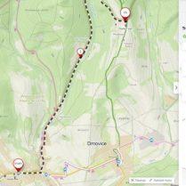 Kočárková trasa Vysoké Pole – delší varianta na Ploštinu