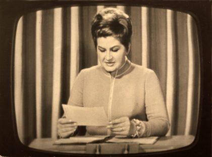 Živé vysílání Československé televze 21 srpna 1968 foto archiv Kamily Moučkové repro zdarma