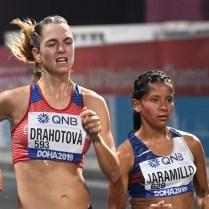 Anežka Drahotová, 20 km chůze 19. místo MS Dauhá 2019 (32)