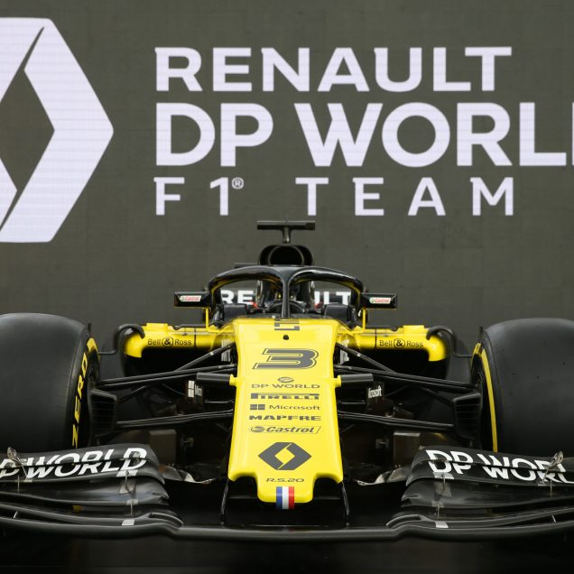 Renault F1 Team - livery reveal. Australian Grand Prix, Wednesday 11th March 2020. Albert Park, Melbourne, Australia.