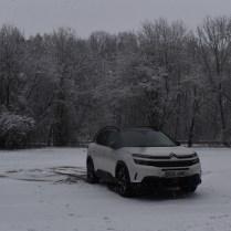 Citroen ve sněhu 2