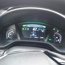 Honda palubní deska