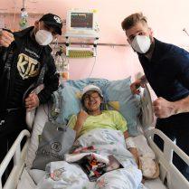 Karlos rozdává radost na dětské onkologii (21)