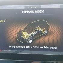 Terrain mode Sand