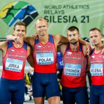 Štafeta sprintérů, foto ČAS Aleš Gräf