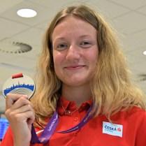 Atletika, přílet medailistů z MEJ 2021 (75)