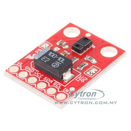 Gesture Sensor (APDS9960) interface with SK40C+PIC16F877A