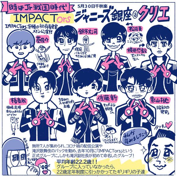 ジャニーズJr.「IMPACTors」は、K-POP好きとKAT-TUN担に刺さる!? 生みの親・タッキーにデビューを懇願したくなった初単独ライブを振り返るの画像1