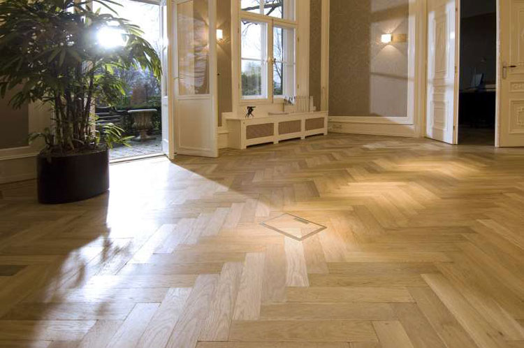 Chevron New York City Wood Floors
