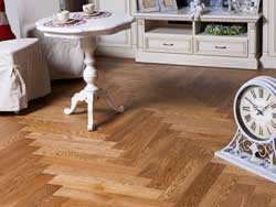 Oak Herringbone flooring