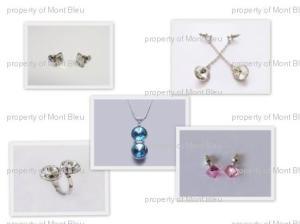 Jewelry with Swarovski  crystal