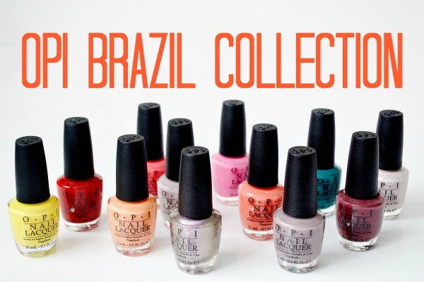 Opi Brazil collection