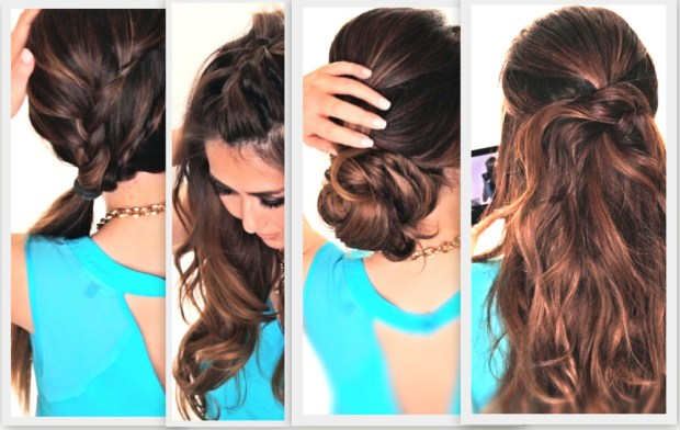 Hair-friendly hairstyles