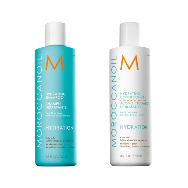 Hydrating conditioner and shampoo