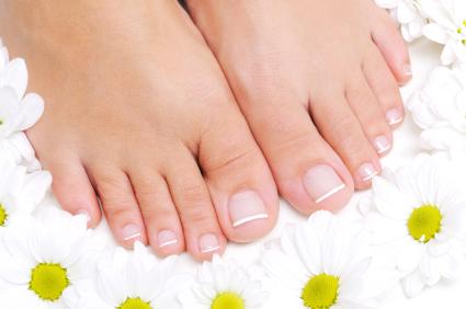 Healthy toenails