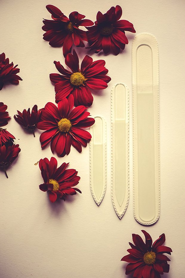Glass nail files set of 3