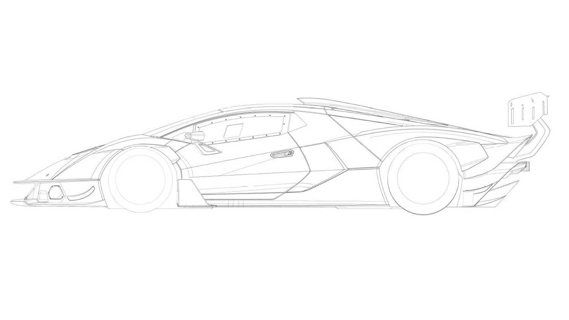 Tohle Je Lamborghini Scv12 Zatim Na Patentov Ch Snimcich