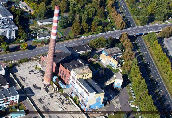 Znalezione obrazy dla zapytania Zdjęcie elektrowni w częstochowie