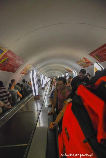 Najgłębsze metro na świecie.