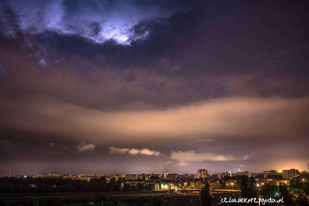 Burza nad Opolem